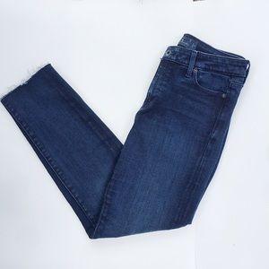 Lucky Brand Jeans Cropped Hayden Skinny Raw Hem 4